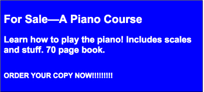 Shitty ad most people would write to sell a piano course.